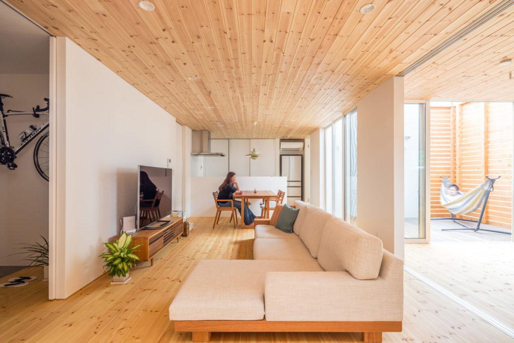 合理的な間取り -新潟の家を考える ハルモニーレーベンの家-