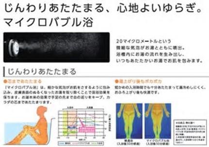 入浴装置 サイエンス・マイクロバブル